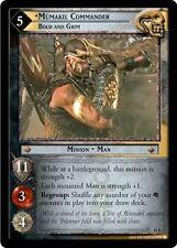 LOTR TCG T&D Treachery & Deceit Mumakil Commander, Bold And Grim 18R71