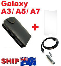Leather Mobile Phone Flip Cases for Samsung Galaxy A5