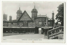 Berkshire - Windsor Castle, Horseshoe Cloisters - Tuck's Real Photo Postcard
