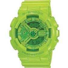 Brand New Casio G-Shock Hyper Colour Limited Edition GA-110B-3 Green Watch