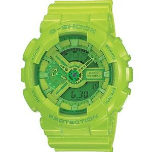 Brand New Casio G-Shock Hyper Colour Limited Edition GA-110B-3 Green Watch