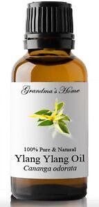 Ylang Ylang Essential Oil - 30 mL - 100% Pure and Natural - Free Shipping