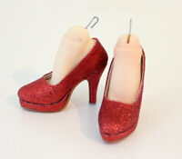 1/3 60cm bjd SD13 SD16 girl doll glitter red highheels shoes dollfie dream luts