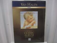 Van Halen 1984 Alfred's Classic Album Editions Piano Vocal Chords Music Book