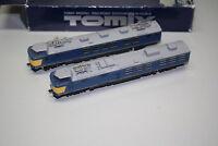 Tomix 92007 Schienenreinigungs-Triebzug mit Wechsel-Drehgestell Spur N OVP