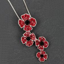 Equilibrium Silver Plated Costume Jewellery & Accessories - Poppy Necklace 64226