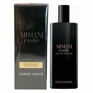 GIORGIO ARMANI CODE FOR MEN 15ML EAU DE PARFUM SPRAY BRAND NEW & SEALED