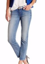 J Crew Women's 27 4-6 Matchstick Stretch Straight  Narrow F0104 Blue Jeans