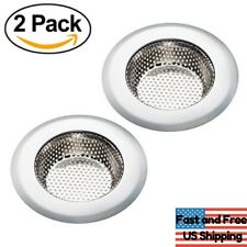 "2Pack Kitchen Mesh Sink Strainers Stainless Steel Drain Strainer 4.5"" HEAVY DUTY"