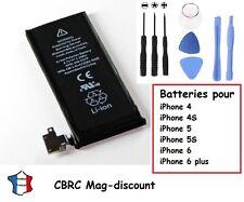Batterie neuve pour iPhone 4 4S 5 5S 6 6 plus de remplacement