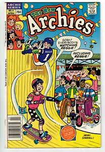 THE NEW ARCHIES #4 1988 VINTAGE SKATEBOARDING COVER COPPER AGE FN/VFN!