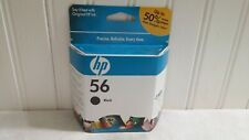 HP 56 Black Ink Cartridge Factory Sealed FREE SHIPPING AS IS NO RETURNS
