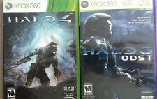 2 Halo Xbox 360 Games: HALO 3 ODST & HALO 4