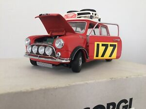 Corgi - Mini Cooper Rally 1/18 Scale - The Concours Collection 99594 ORIGINAL