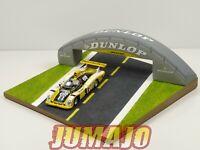 DL4 Diorama pont Dunlop 1/43 Le Mans + Alpine A442B 24 H du Mans 1978 #2 1st