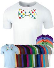 Bow Spotty Dotty Day Mens Tshirt Children Day Ladies Top Tee T-Shirt
