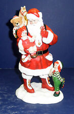 Pipka Raggedy Ann & Andy Santa -New in Box- #10099- #1112 Limited Edition