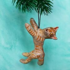 Christmas decoration red cat