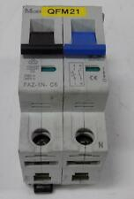 MOELLER CIRCUIT BREAKER FAZ-1N-C6 IEC/EN 60898 INC 10KA