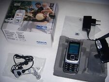 NOKIA 6111 ORIGINALE BLACK UNICO 2005 + SCATOLA BATTERIA NUOVA + ACCESSORI ORIG.