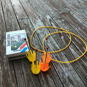 Vintage Sportcraft Lawn Toss Outdoor Game 11043 Backyard beach fun