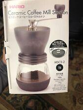 Hario Cermaic Coffee Mill Skerton MSCS-2TB Manual Burr Grinder Mint