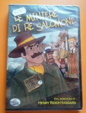 Film dvd LE MINIERE DI RE SALOMONE cartone NUOVO raro