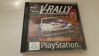 V-Rally 2 Championship Edition (PlayStation 1,1999) PS1 PAL UK European Complete