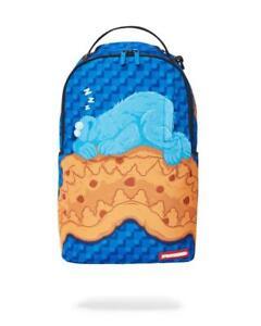 Sprayground Cookie Monster Sleeping Urban School Bag Original Backpack 2021