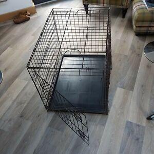 Dog crate (folding, medium size)