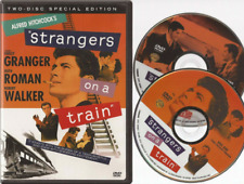 Strangers on a Train (Dvd, 2004, 2-Disc Set) Alfred Hitchcock Usa Region 1