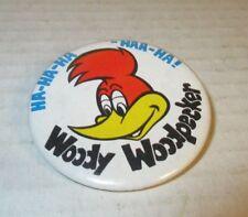 Vintage 1972 Woody Woodpecker Walter Lantz Pinback Button Pin