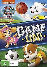 PAW PATROL - GAME ON! - BRAND NEW & SEALED (R4) DVD (NICKELODEON)