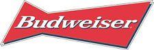 """Budweiser Beer Alcohol Bumper sticker, wall decor, vinyl decal, 6""""x2"""""""