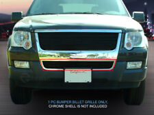 Black Lower Bumper Billet Grille Grill Insert For 2006-2007 Ford Explorer