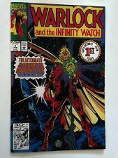 Warlock & the Infinity Watch #1/Marvel Comic Book/Infinity Gauntlet Tie In/NM-