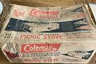 Coleman Picnic Stove One Burner - BOX ONLY - Model 5404 - Vintage