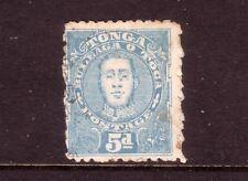 TONGA....  1895  5d blue used