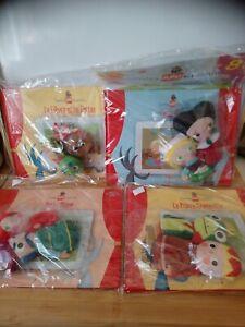 Lot livres contes avec peluches marionnettes Altaya neufs sous blisters