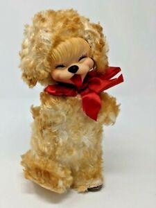 Rushton Rubber Face Plush Brown Puppy Cheeky Grin Tongue Rushton Star Creation