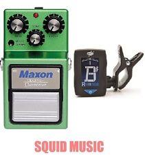 Maxon OD-9PRO+ Overdrive ( FREE DUNLOP GUITAR TUNER ) TUBESCREAMER OD9 PRO PLUS