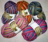 5,50€ / 100 gr RELLANA Sockenwolle 4-fach / 4-fädig  PISA Musterbildend