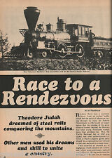 The Railroad Paves The Way For The United States+Crocker,Durant,Hopkins,Judah