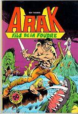ARAK FILS DE LA FOUDRE n°1 ¤ 1982 ¤ ARTIMA COLOR DC SUPER STAR