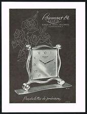 1940s Vintage 1947 Rosemont Clock Co Pendulettes Mid Century Modern Art Print AD