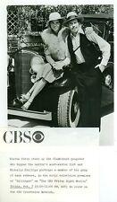 MICHELLE PHILLIPS WARREN OATES DILLINGER FORD CAR ORIGINAL 1975 CBS TV PHOTO