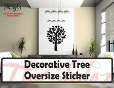 Decorative Tree Oversize Wall Vinyl Sticker