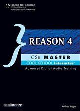 REASON 4-CSi MASTER-DIGITAL AUDIO TRAINING INTERACTUS CD BRAND NEW SEALED SALE!