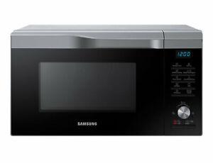Samsung MC28M6035CS/EG Kombi-Mikrowelle mit Grill und Heißluft, 28L, 900W