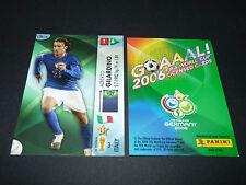 ALBERTO GILARDINO ITALIA PANINI CARD FOOTBALL GERMANY 2006 WM FIFA WORLD CUP